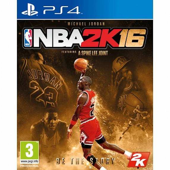 Ps4 NBA 2K16 Michael Jordan Edition