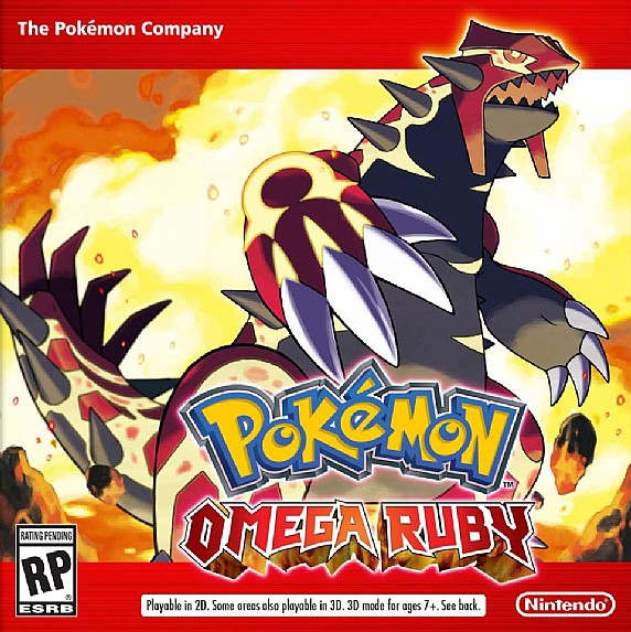 3DS - Pokemon Omega Ruby