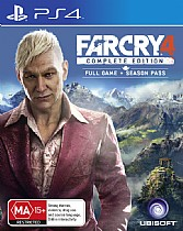PS4-far cry 4 complete edition