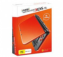 The New Nintendo 3DS XL Orange and Black