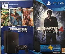 PS4 Slim 1TB Uncharted Pack
