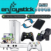 Xbox 360 500gb + Kinect + Controller  Celebration Pack RGH